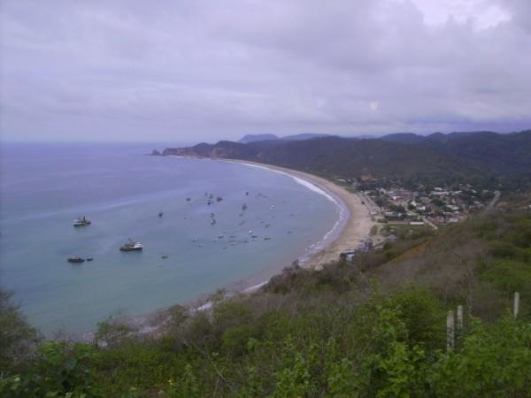 Panorama de Salango