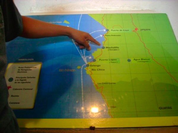 Un vistazo al mapa