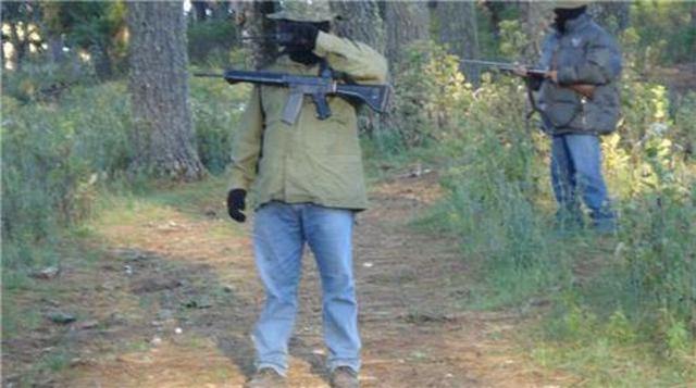 Paramilitares cercando San Juan Copala