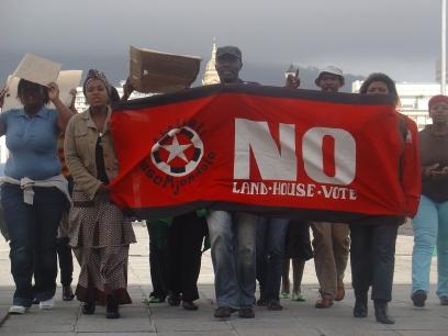 Marcha del AbM WC en Ciudad del Cabo
