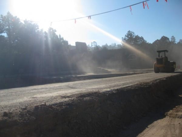 Cosntrucción de la autopista San Cristóbal d. L. C. - Palenque