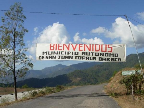 Entrada de San Juan Copala
