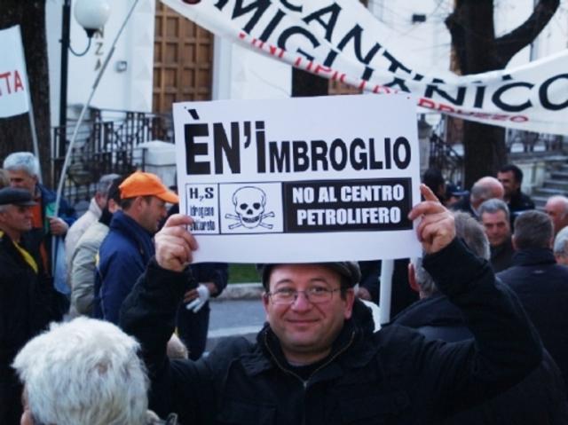 """Italia, una lucha contra la """"petrolarización"""" de las tierras"""