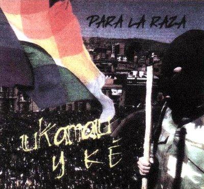 CD del rapero Ukamau Y Ké de Bolívia