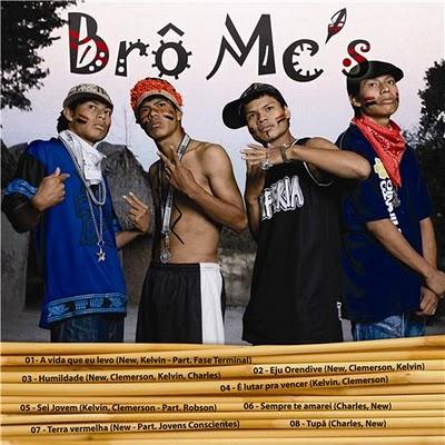 CD Brô Mc´s, raperos guarani-kaiowá de Brasil