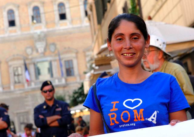 Rom rumanos en Roma
