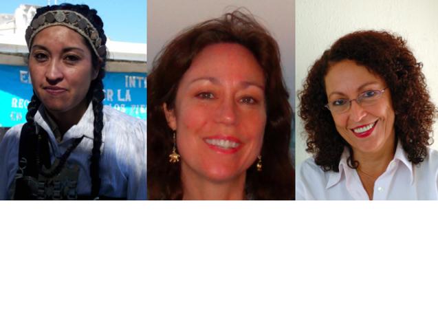 Tres miradas femeninas