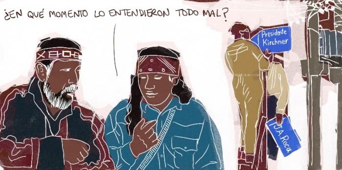 Tras la muerte de Néstor Kirchner en multitud de pueblos se cambió el nombre de las calles o avenidas Julio A. Roca, el general que lideró la Conquista del Desierto, por el del ex presidente.