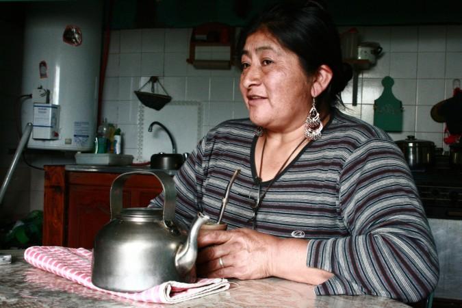 Rosa Nahuelquir recupero en 2002 junto a su marido Atilio Curiañanco una parcela de tierra usurpada por la compañía italiana Benetton al norte de Chubut. Después de ser desalojados dos meses después, volvieron al terreno en 2007. Desde entonces han conseguido resistir en el lugar