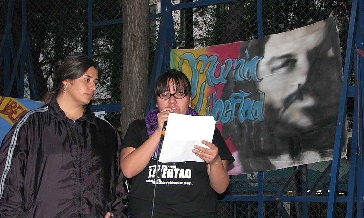 Acto por la liberación de Mumia en México