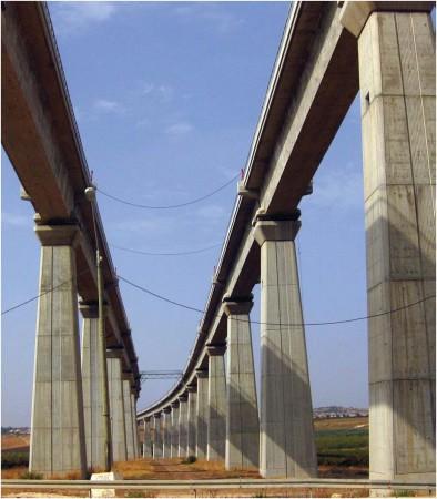 Puente 6 cruzando el enclave Latrun