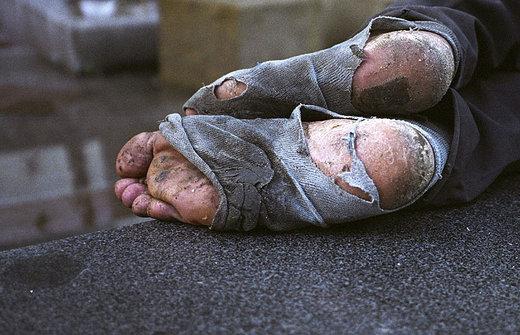 Pobreza en Austria