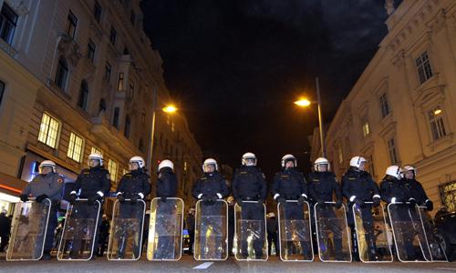 Policía en Viena