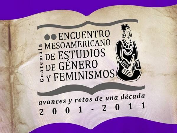 Cartel II Encuentro Mesoamericano de estudios de género y feminismos