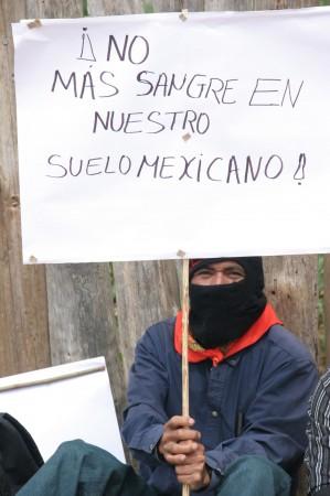 Marcha zapatista por la Paz