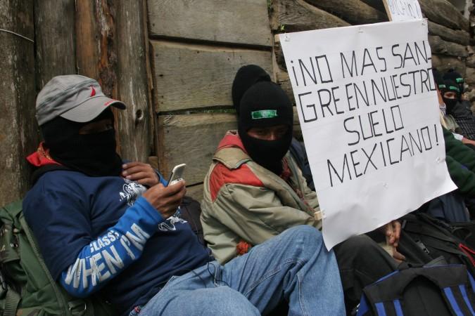 No más sangre en nuestro suelo mexicano
