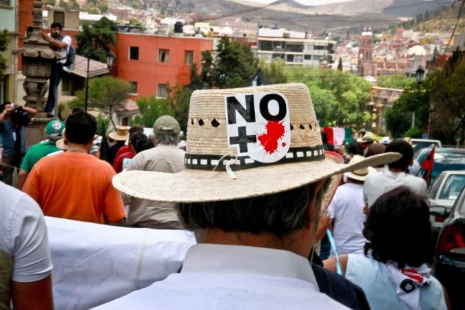 Caravana en Zacatecas. Foto: Clayton Conn