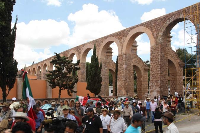 Caravana en Zacatecas