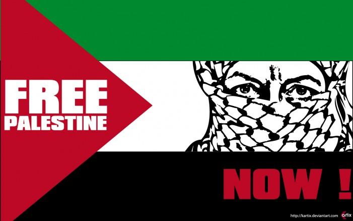 Free Palestine now!