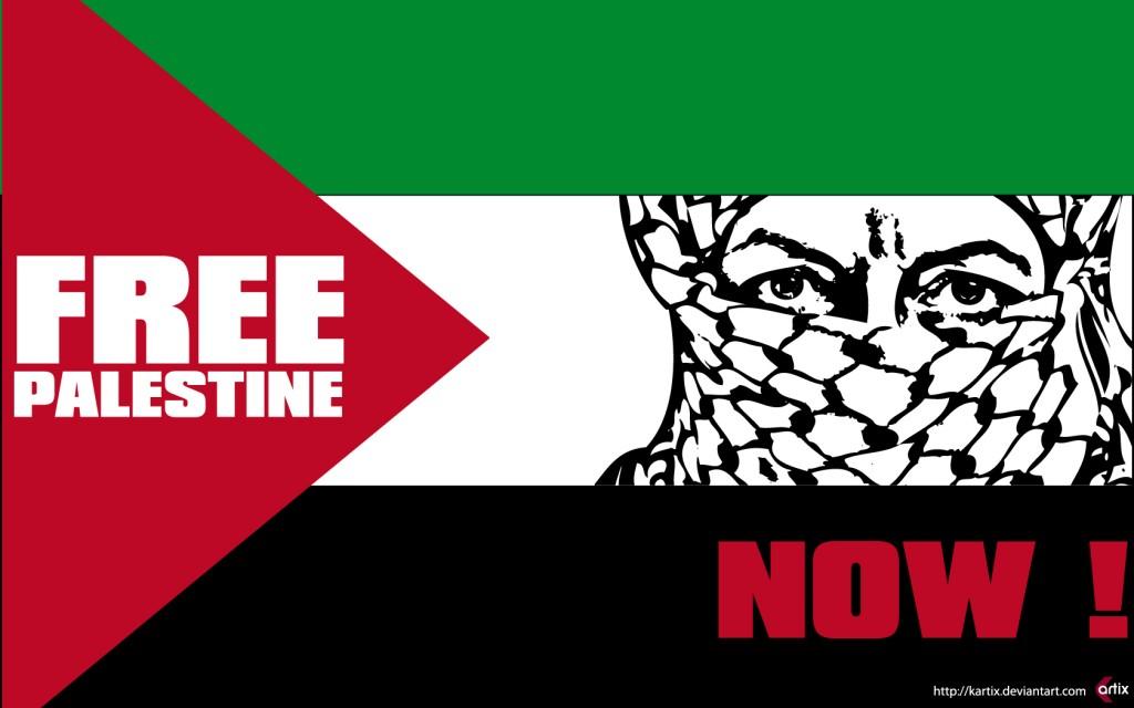 Una vida por la libertad de palestina free palestine now