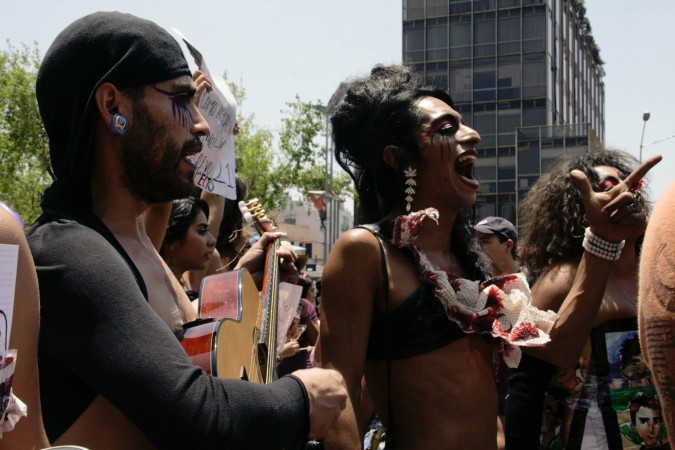 Marcha de las Putas en la Ciudad de México