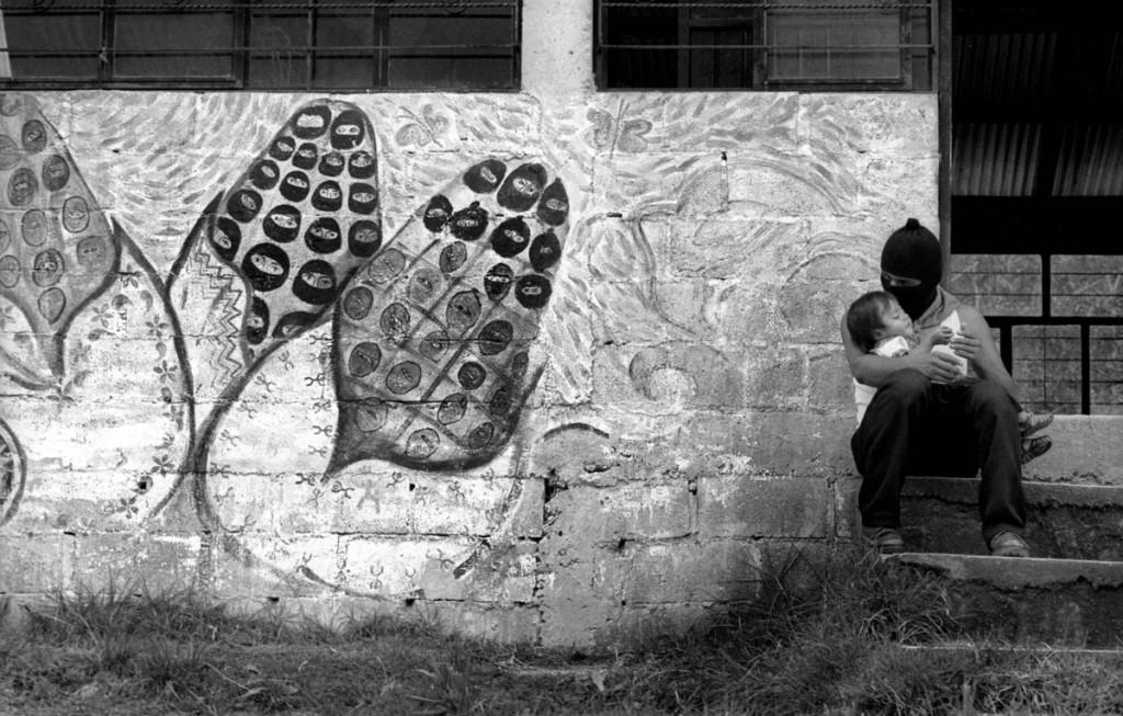 Comunidad indígena zapatista