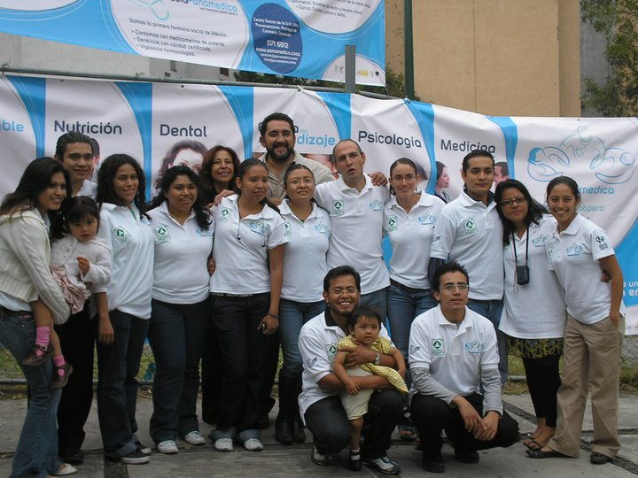 El equipo de la Cooperativa Panamédica