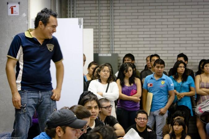 Diego del Ángel. México. Foto: Isabel Sanginés
