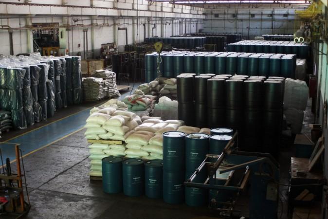 Interior fábrica Flasko