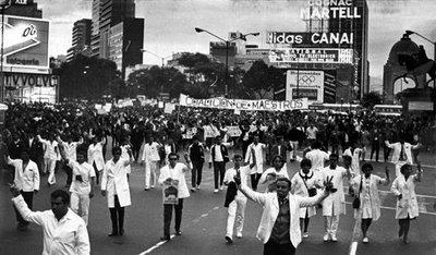 Manifestación del silencio 1968