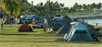 """Campamento """"sin casa"""""""