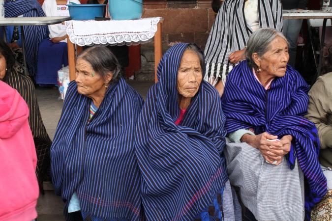 Mujeres de Cherán. Foto: Cecilia Girón