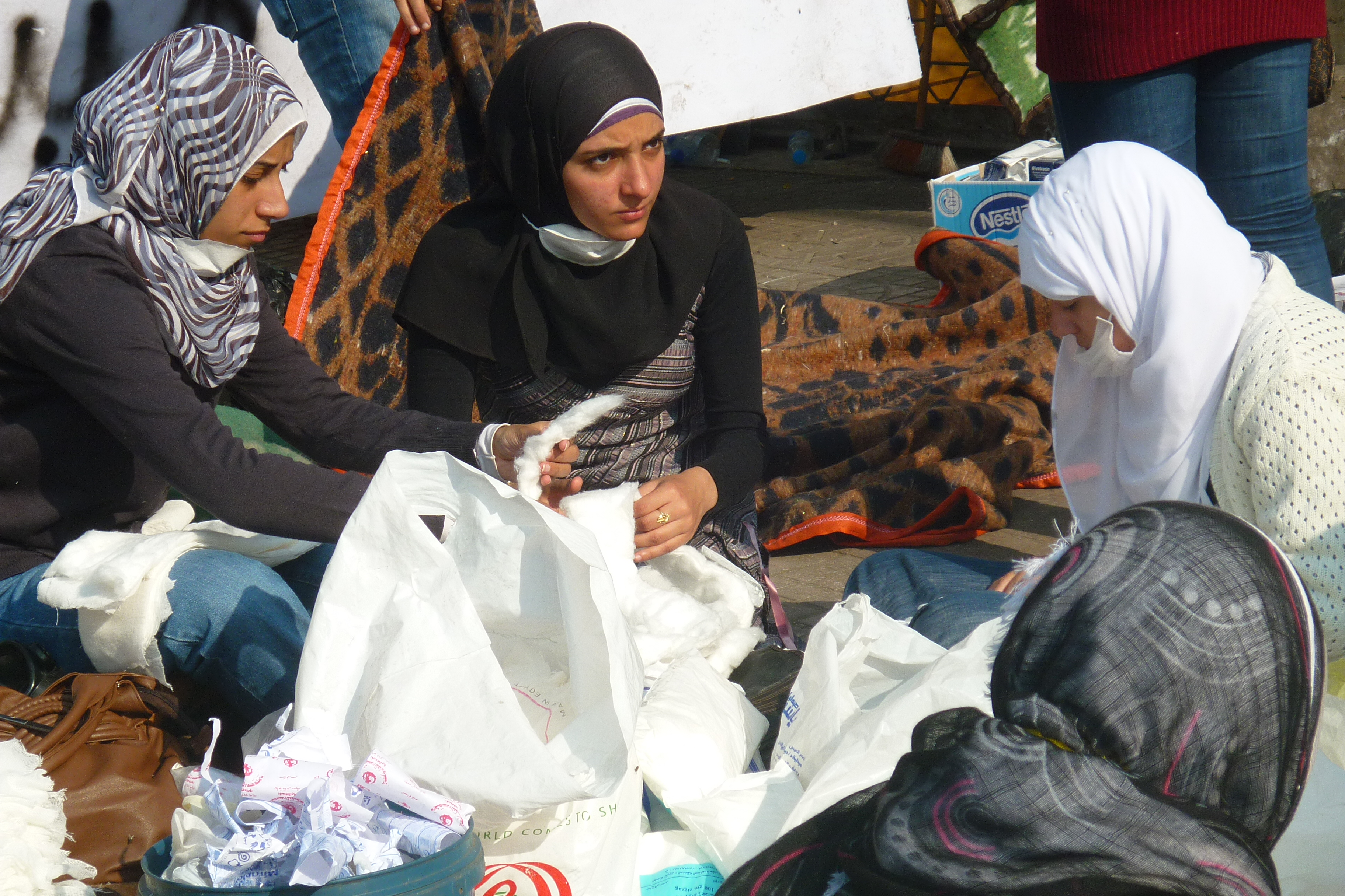 Egipto, durante las revueltas. Noviembre 2011
