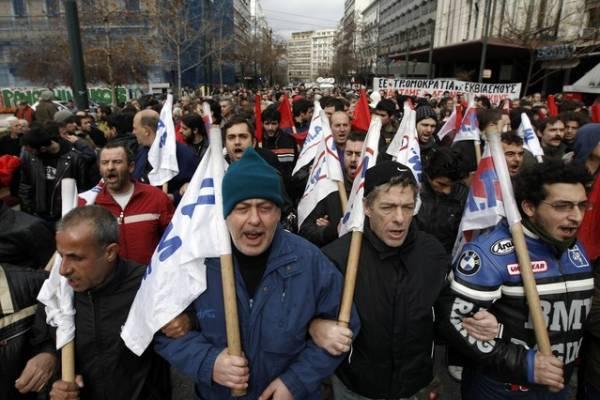 Grecia, huelga