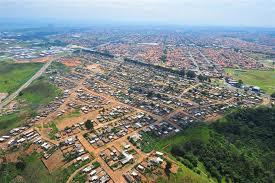 Vista aerea do Pinheirinho