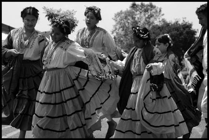 Young Dancers at a Oaxacan Immigrant Fiesta