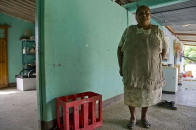 Mother of Murdered Activist in a Zapotec Town Resisting a Mine