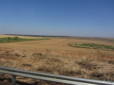 Imagen de las tierras de Marina Kue, donde se produjo la matanza. Foto: Natalia Viana