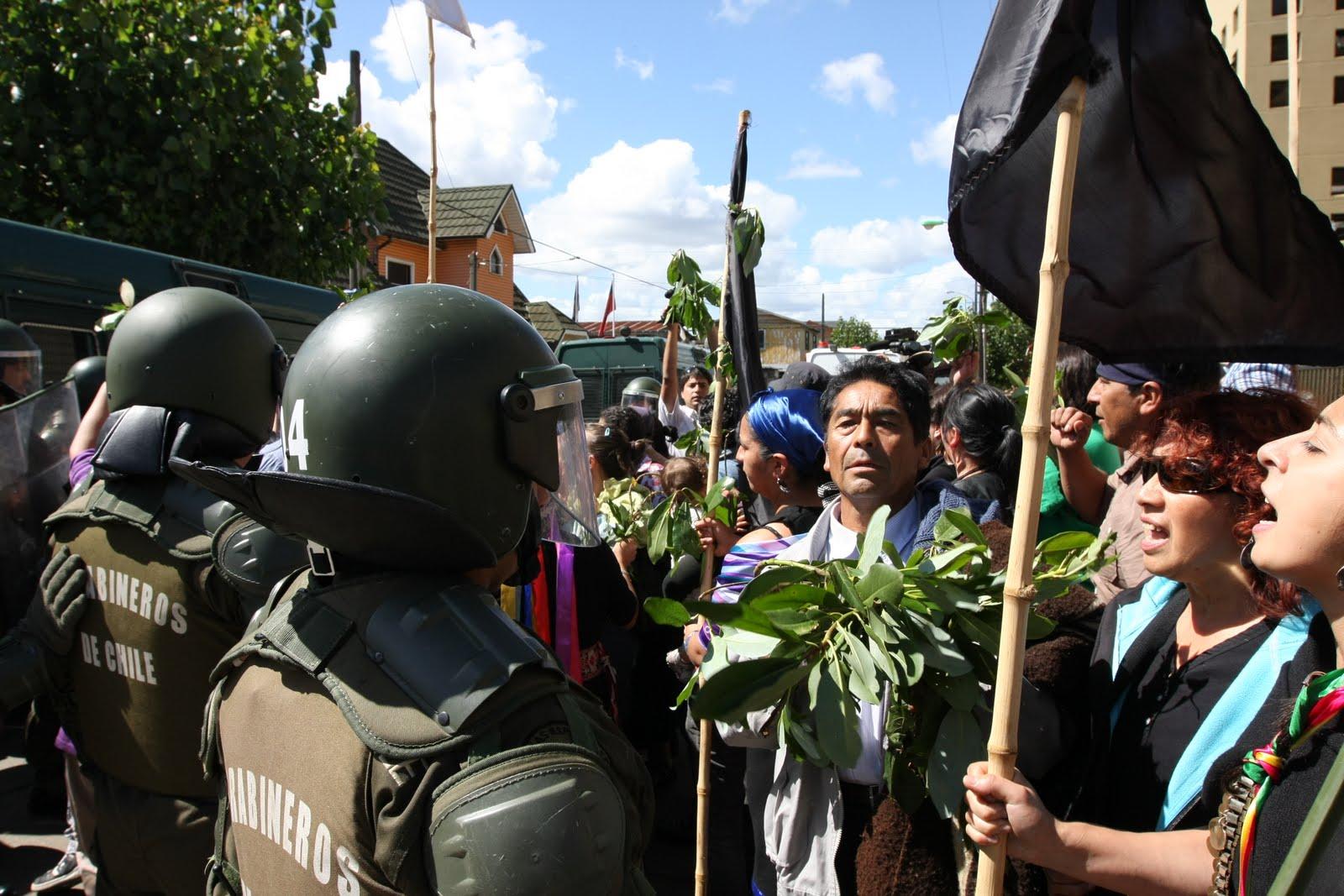 mapuche carabineros