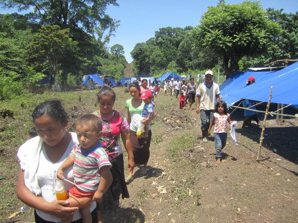 Palacio Nacional, última esperanza para los desplazados de Guerrero