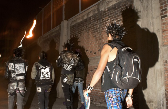 anarquistas MEXICO PUNK