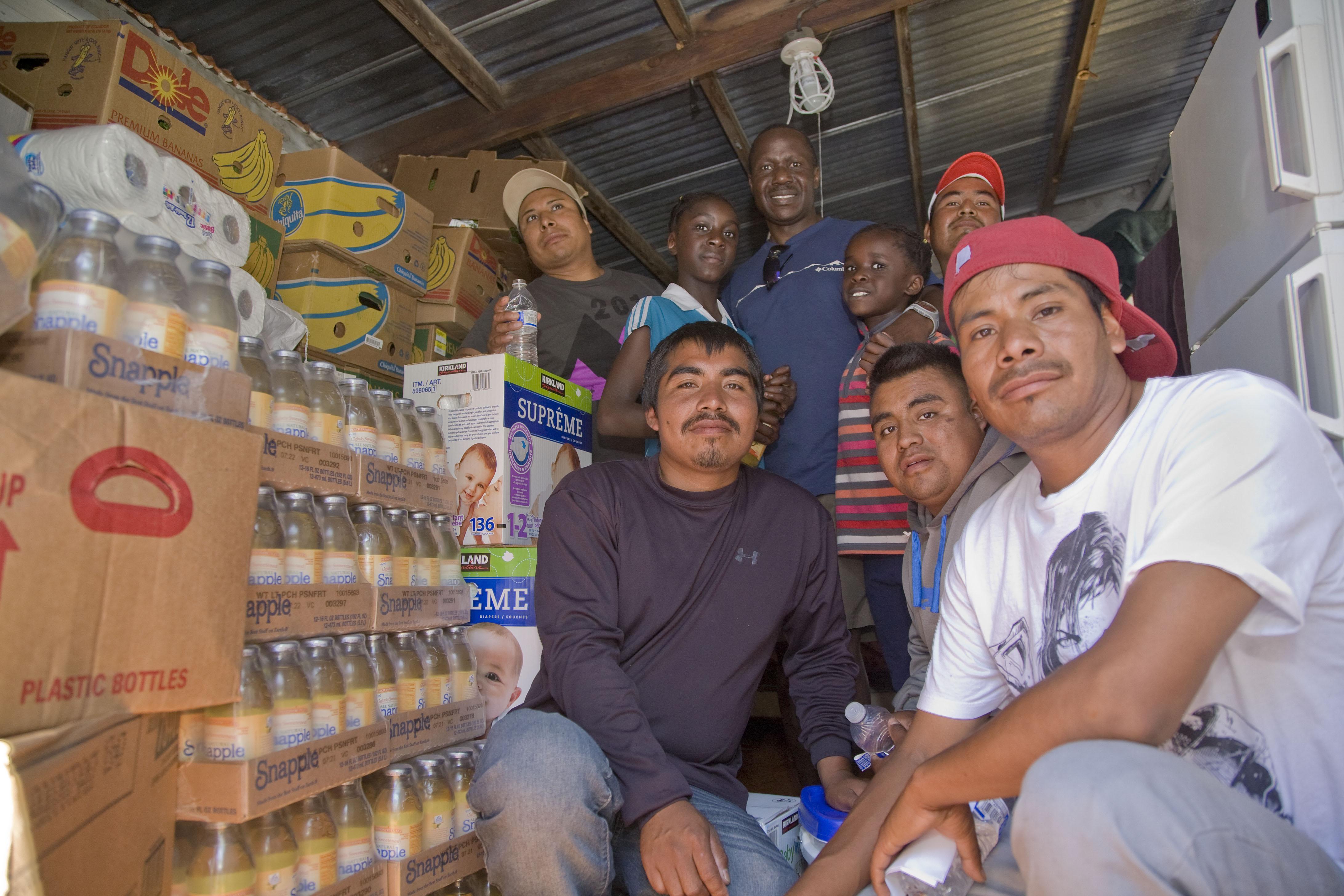 Farm Workers on Strike Against Sakuma Farms