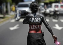 EL SALVADOR-HEALTH-ABORTION-LEGALIZATION-DEMO