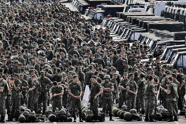 brasil fuerza militar