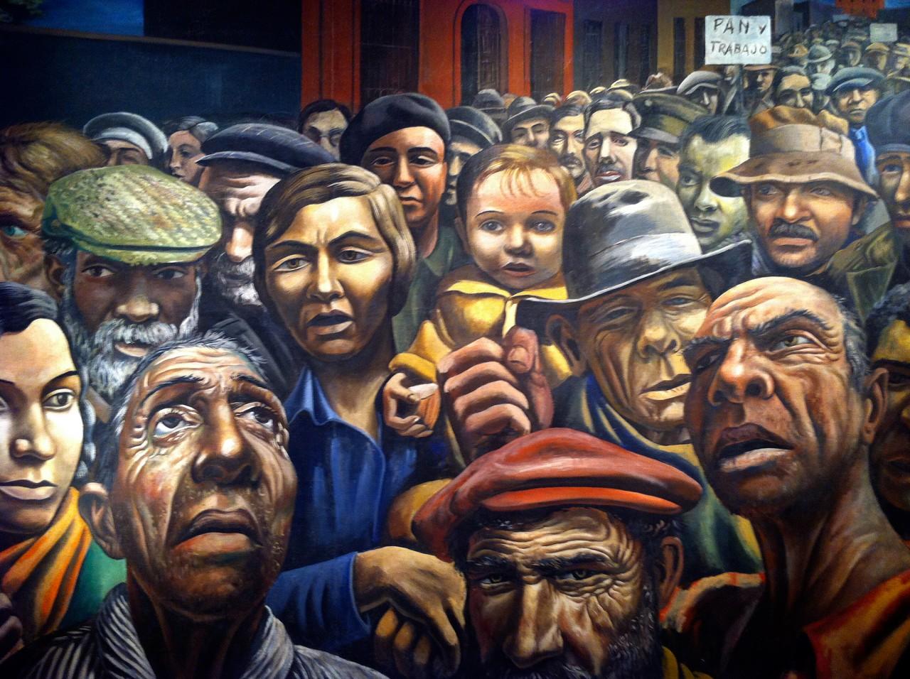 Antonio-Berni-Museum-Art-Buenos-Aires-1280x956 Manifestación, 1934 [Public Demonstration] by Antonio Berni (1905–1981)