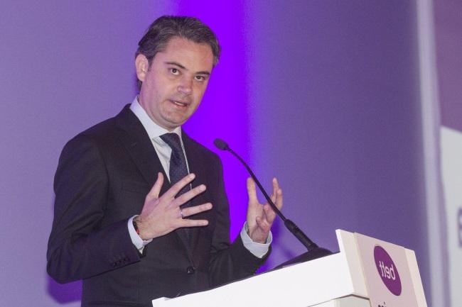 MÉXICO, D.F., 08OCTUBRE2015.- Aurelio Nuño, secretario de Educación participó en la conferencia en la Cumbre BETT Latin America Leadership, en el Centro Banamex.  FOTO: ISAAC ESQUIVEL /CUARTOSCURO.COM