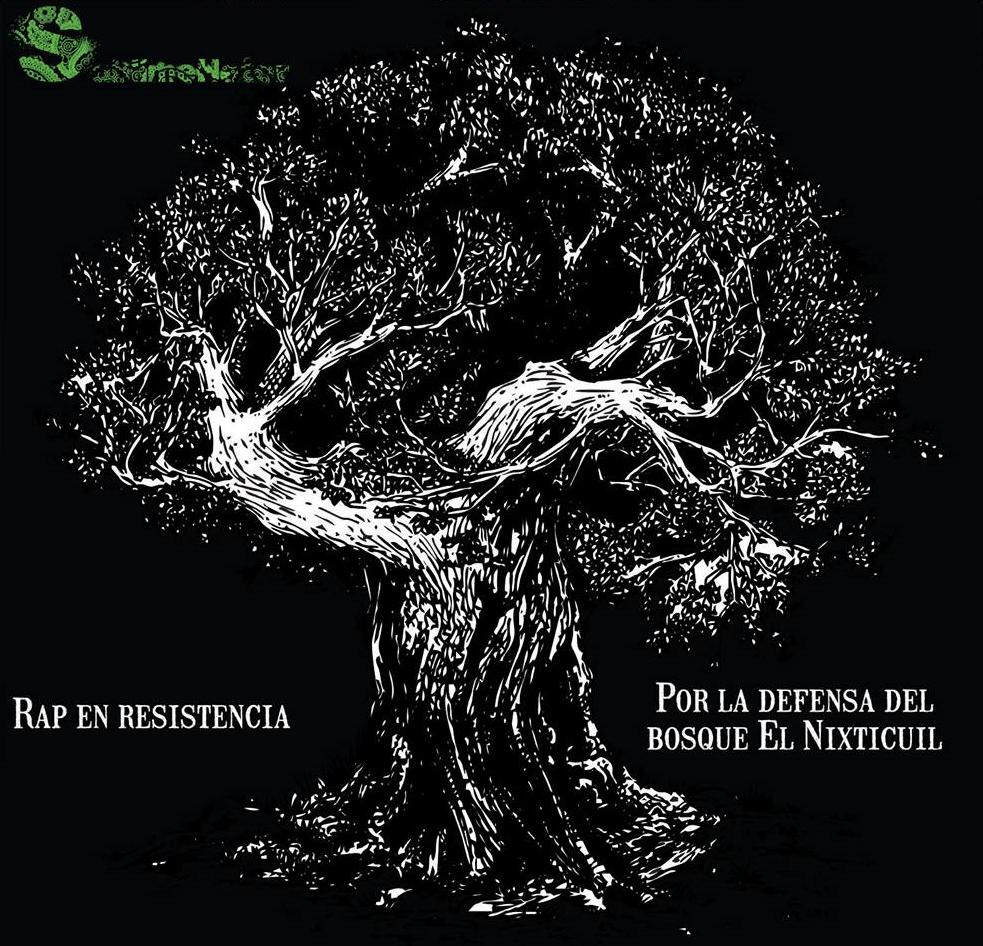 Portada RAP de la resistencia del Bosque Nixticuil. Comité Salvabosque