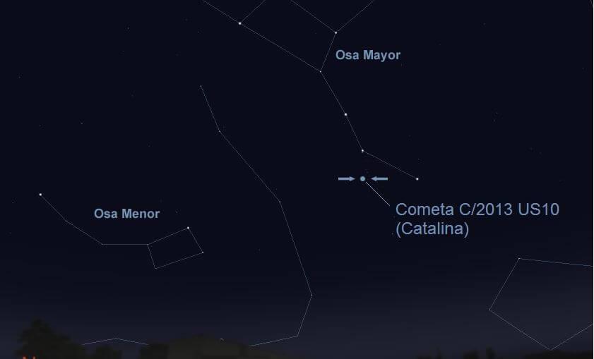 cometa interiores foto Nasa