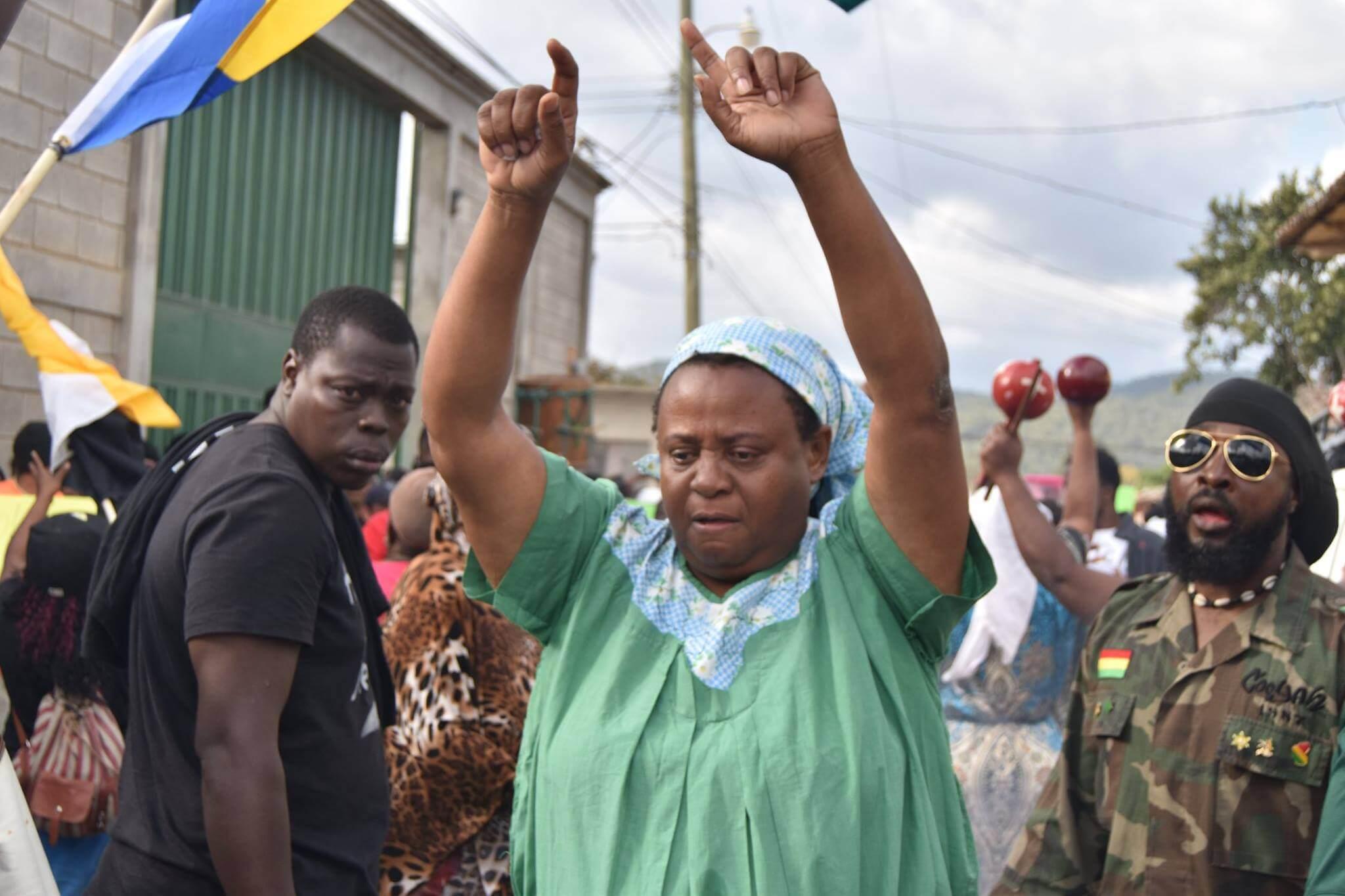 Berta solidaridad 2 Esperanza Honduras