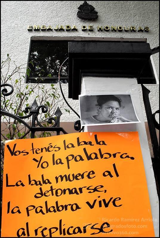 embajada de honduras mexico